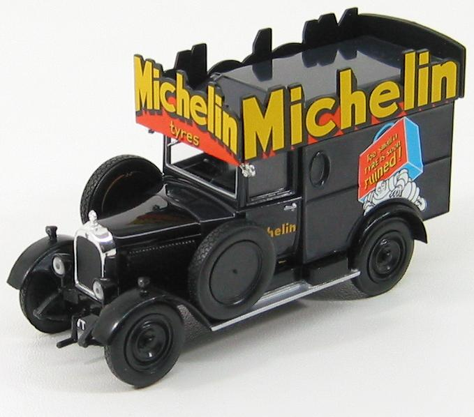 Morris Cowley Van 1929 Michelin