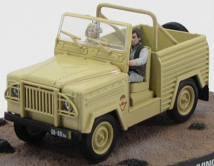 "Land Rover Lightweight ""The Living Daylights"" 1987 Beige"