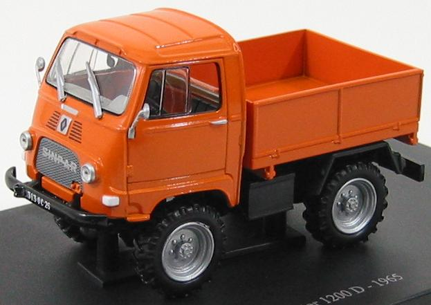 Renault Sinpar Castor 1200D 4x4 1965 Orange