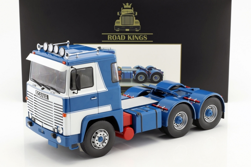Scania LBT141 1976 Blue/White