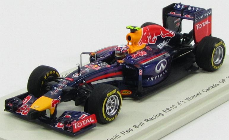 Red Bull RB10 #3 Winner Canada GP 2014 Daniel Ricciardo