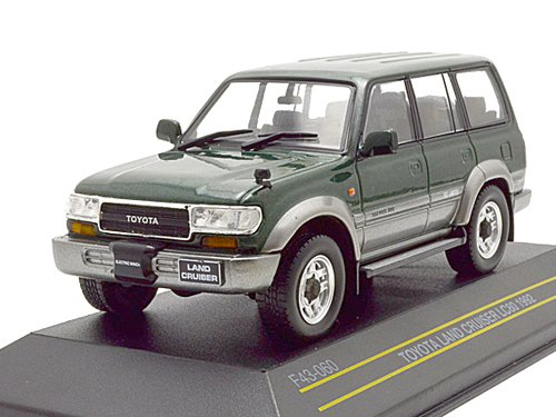 Toyota Land Cruiser (LC80) 4х4 Japan 1992 Metallic Dark Green/Silver