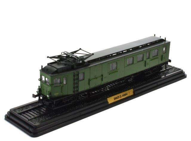 SNCF-4004 (L'AUTOMOTRICE AE1 A' 7 PO) (VERSION SNCF Z.4000) 1904 Green