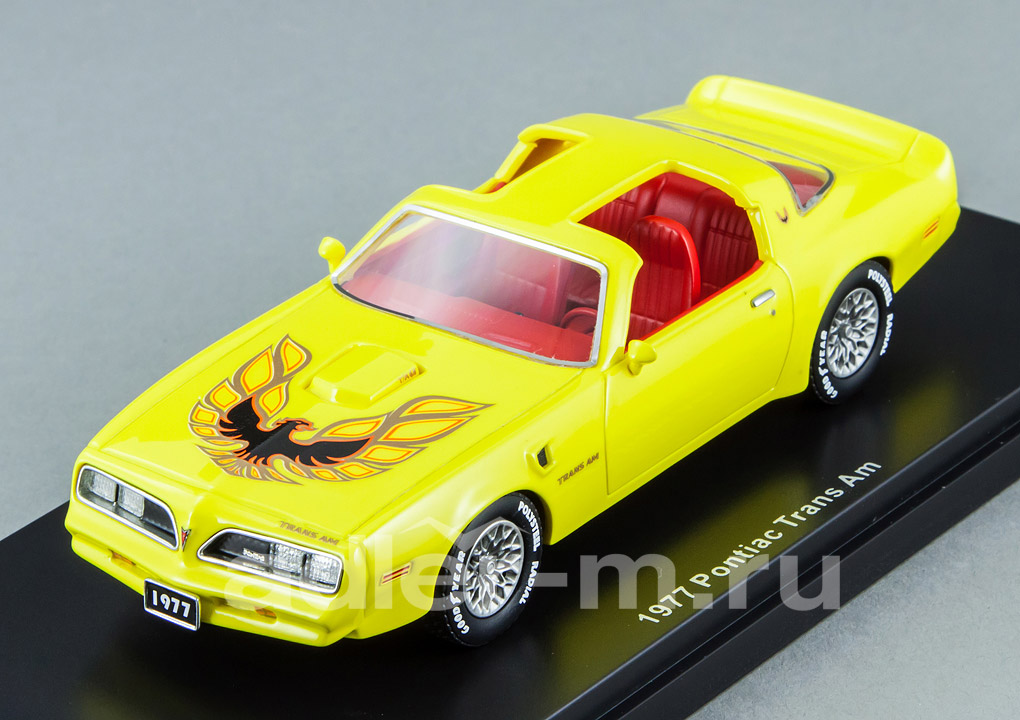 Pontiac Firebird Trans Am 1977 yellow