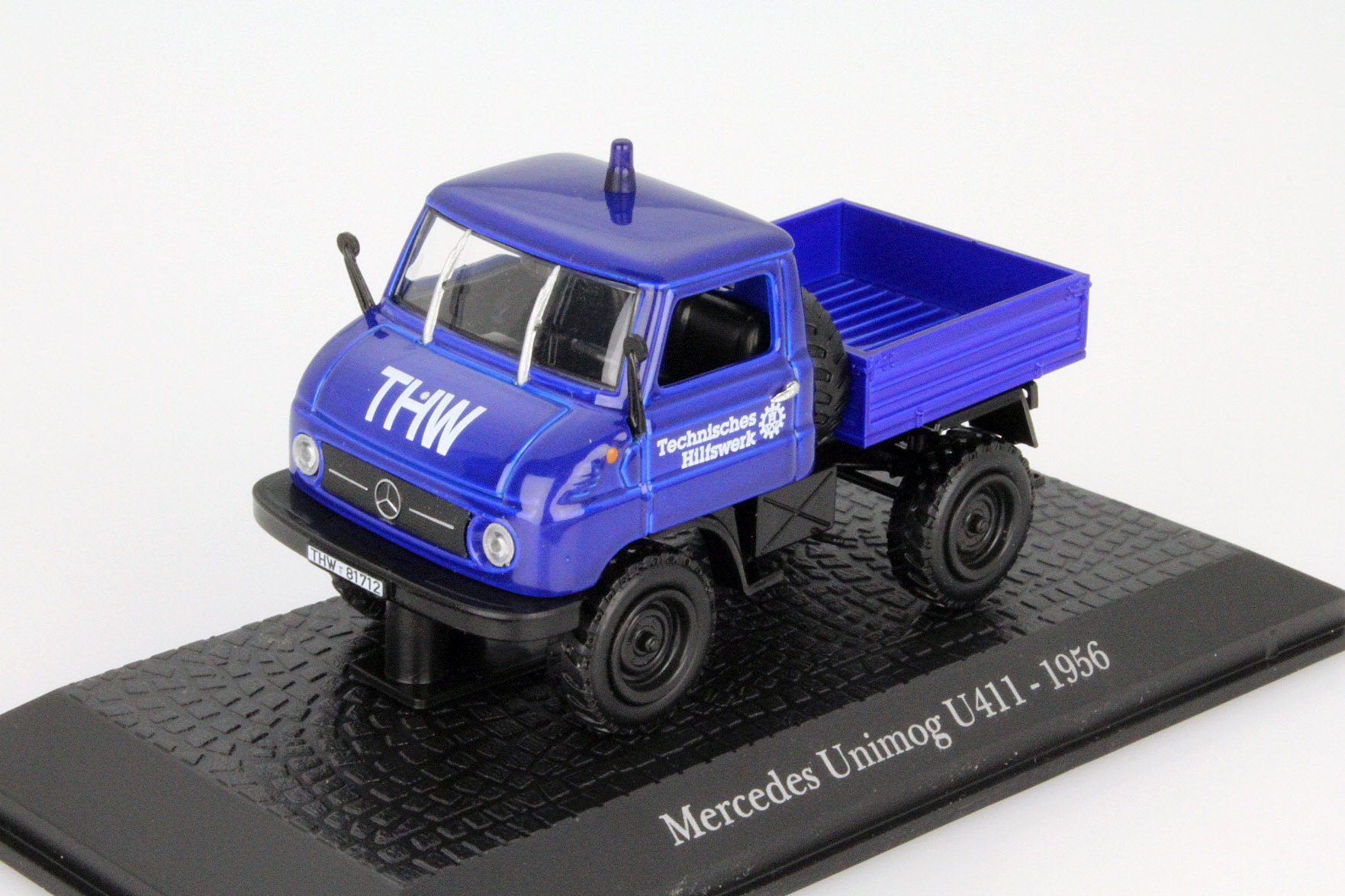 Mercedes-Benz Unimog U411 1956 Blue