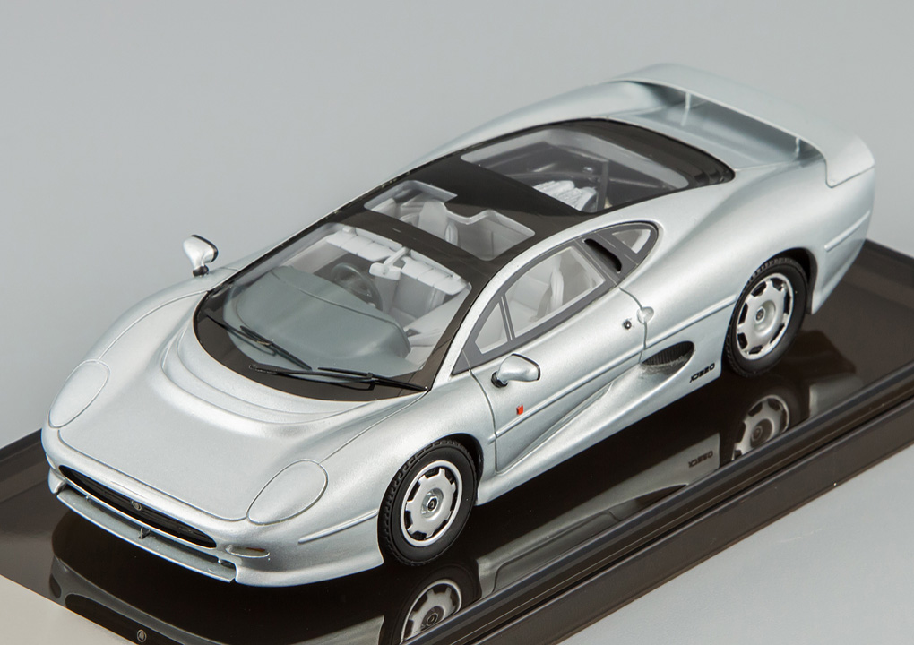 Jaguar XJ220, Spa Silver