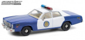 "PLYMOUTH Fury ""Osage County Sheriff"" 1975 Blue - White"