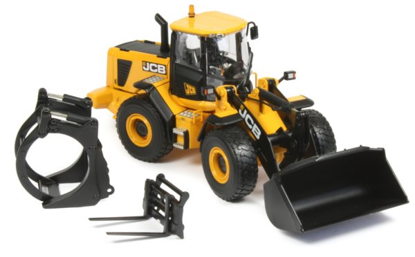JCB 456ZX Wheel Loader (Update design)