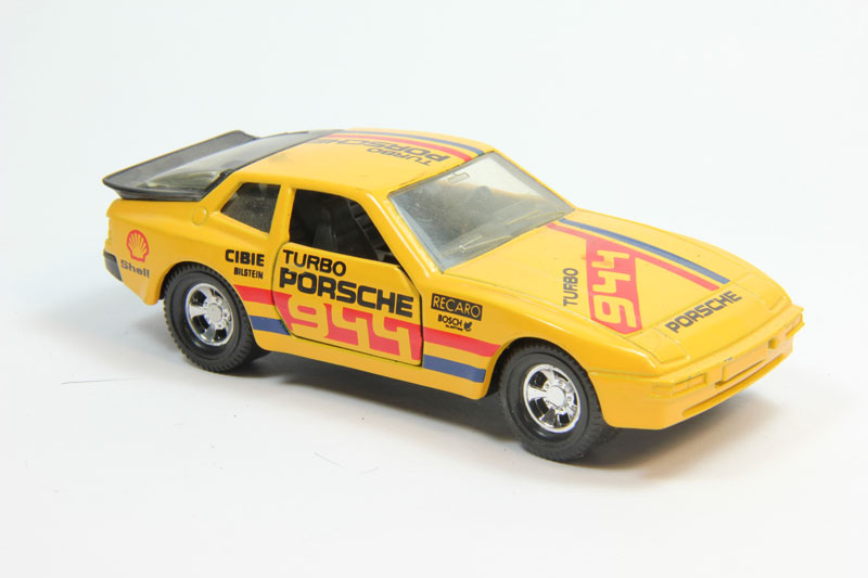 Porsche 944 yellow (серия Superkings)