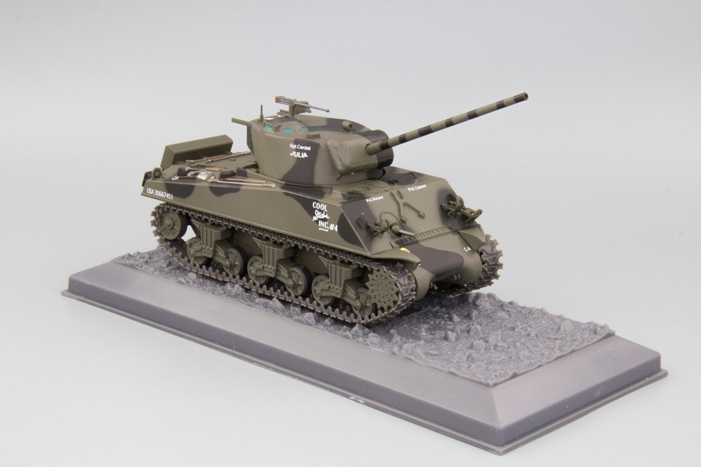 M4A3 (76MN) USA 761st Tank Battalion Germany -March 1944