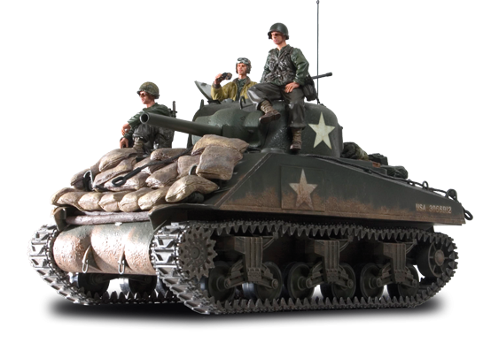 M4 Sherman Diecast Model