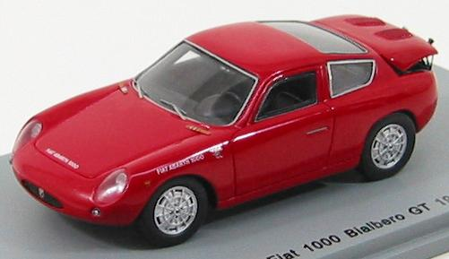 FIAT Abarth 1000 Bialbero GT 1961 Red