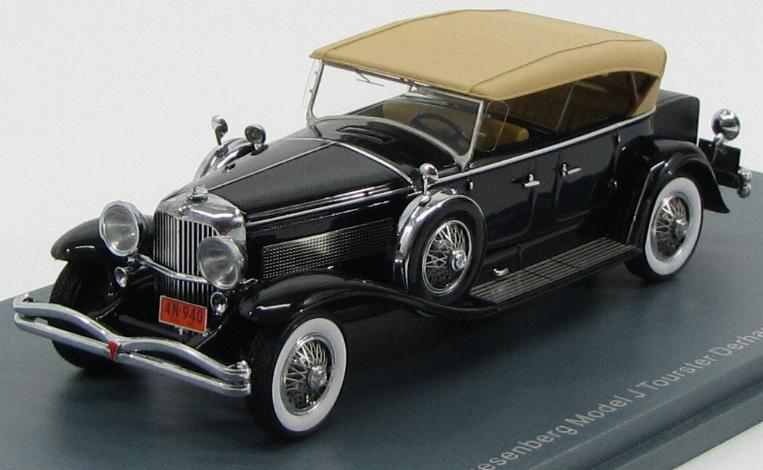 Duesenberg Model J Tourster Derham 1930 Black