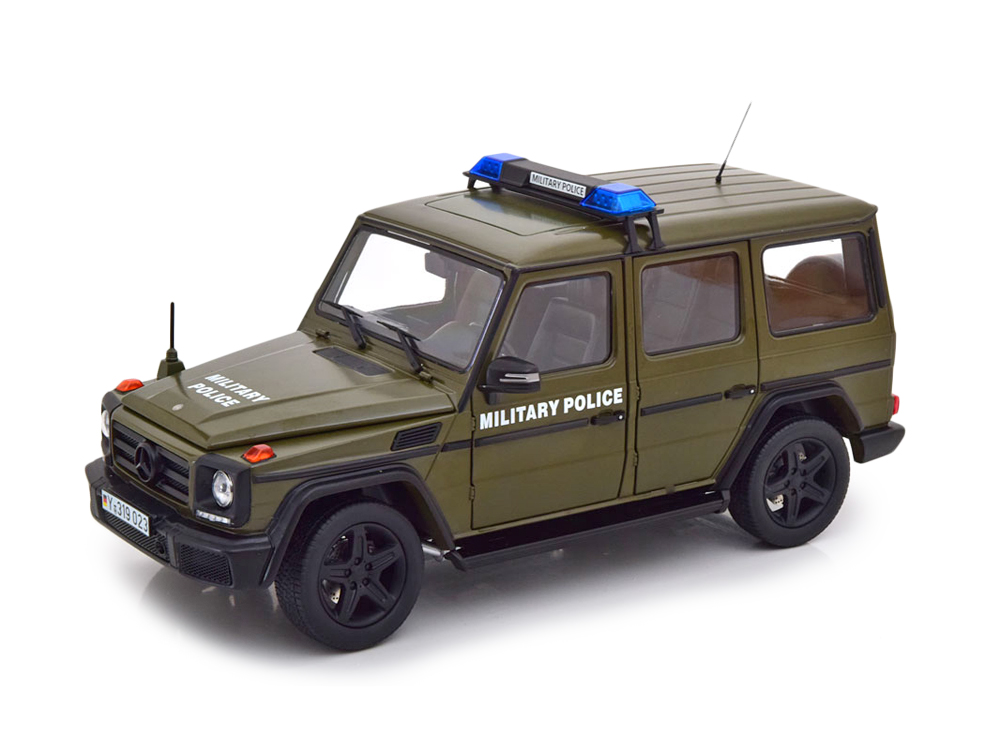 Mercedes-Benz G-Class (W463) 2015 - Military Police