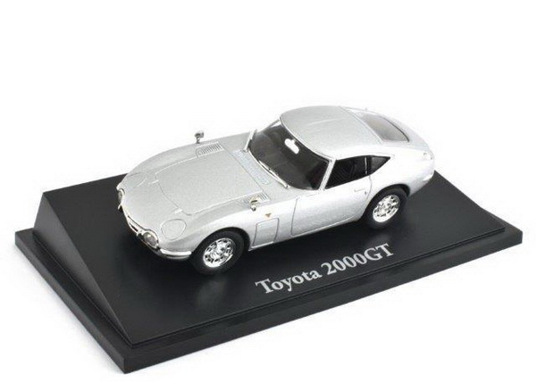 TOYOTA 2000GT 1967 Silver