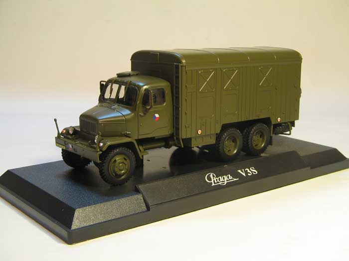 Praga V3S Box Truck (1967) Czech Army