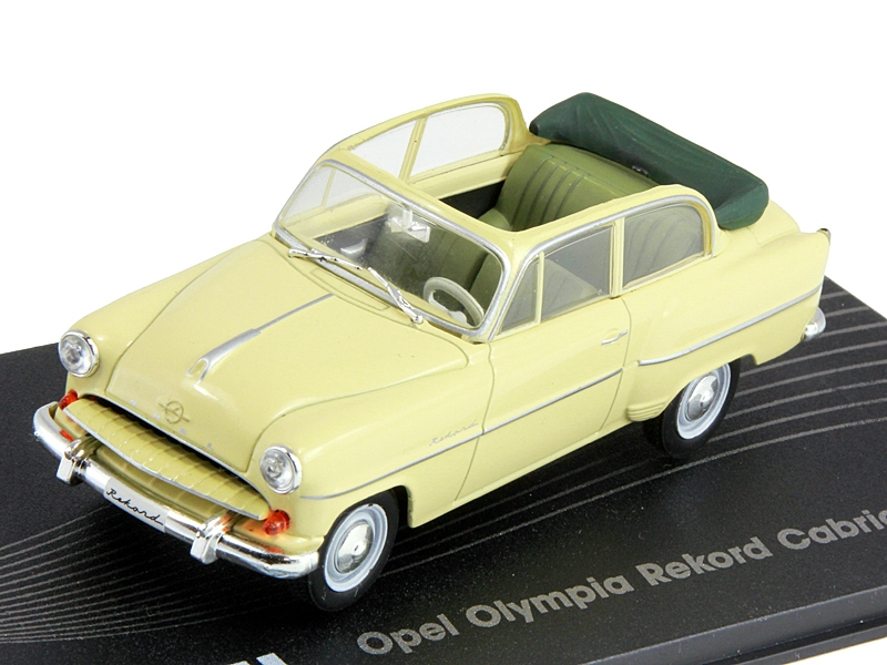 Opel Olympia Rekord Cabrio-Limousine (1954) Beige