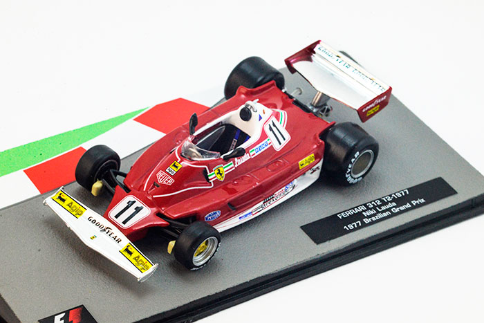 Ferrari 312 T2  Niki Lauda (1977), Formula 1 Auto Collection 2