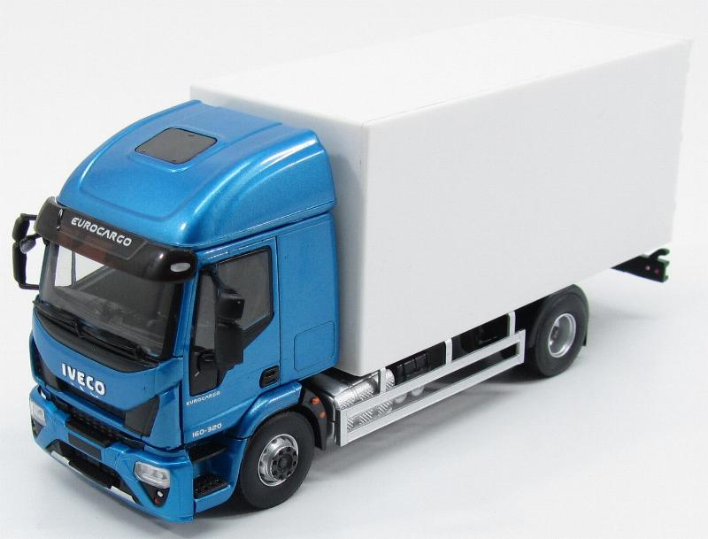 Iveco Eurocargo 2015 Blue And White