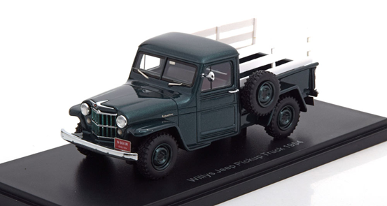Jeep Willys Pick Up 4x4 1954 Green