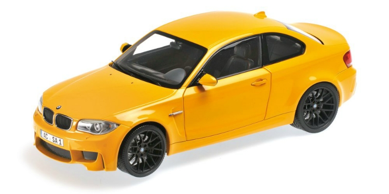 BMW 1 Series M Coupe 2011 (yellow)