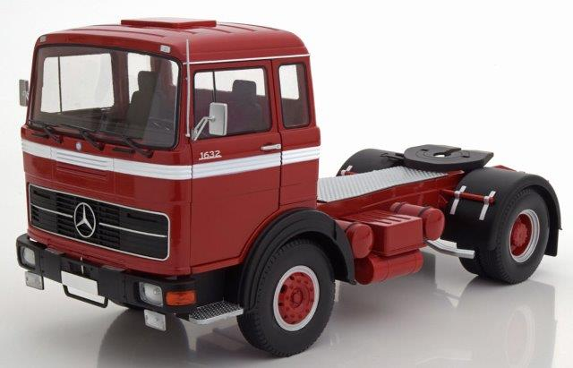 седельный тягач MERCEDES-BENZ LPS 1632 1969 Red/Black/White
