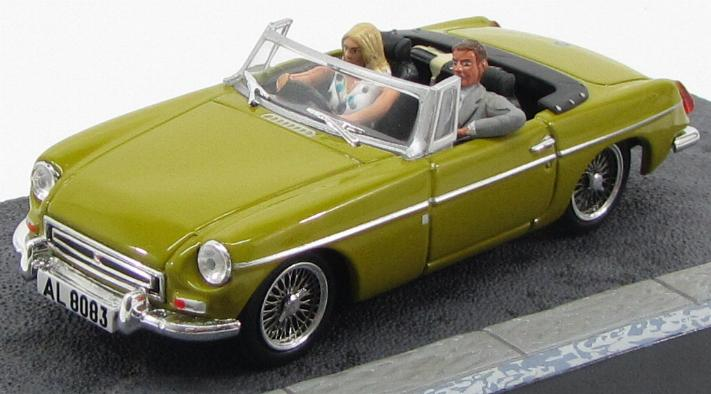 "MGB ""The Man with the Golden Gun"" 1974 Yellow"