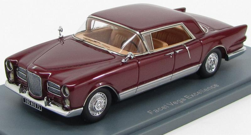 Facel Vega Excellence 1958 Dark Red / Silver