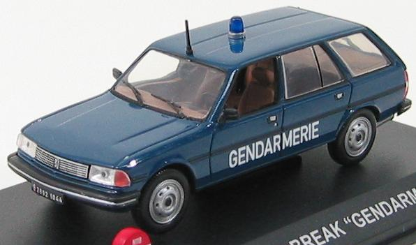 Peugeot 305 Break Gendarmerie 1983
