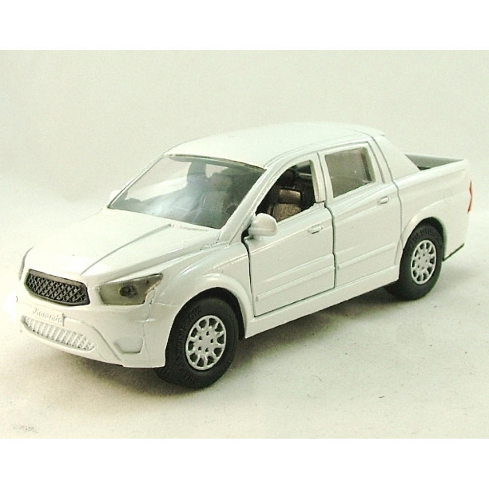 SSANG YONG Actyon Sports, MINICAR Series 1:32, белый