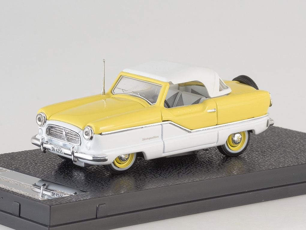 Nash Metroplitan Coupe (1959), yellow / white