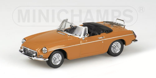 MG B CABRIOLET – 1968 – YELLOW
