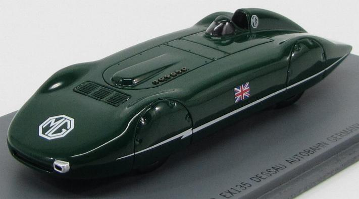 MG - EX 135 (6 CYL 1087 CC SC) Speed Record Car 204.2 mph 1938 Gold Gardner
