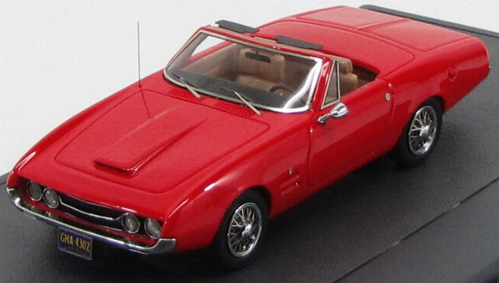 Ghia 450SS Convertible 1967 Red