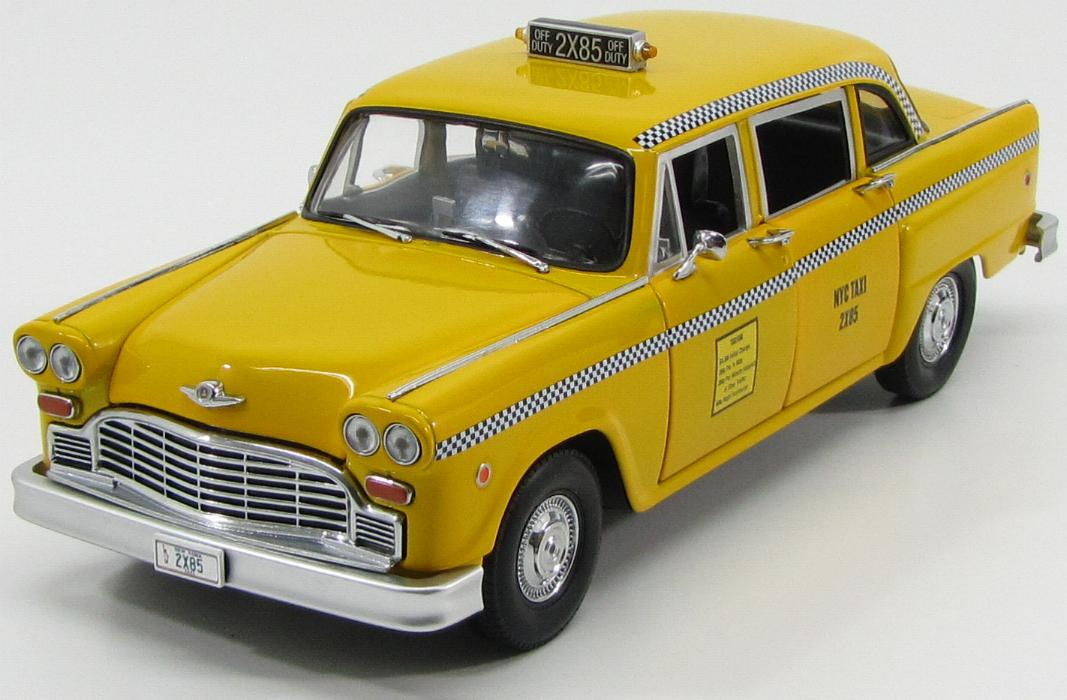 "Checker Taxi Cab 1977 ""Friends Phoebe Buffays"""