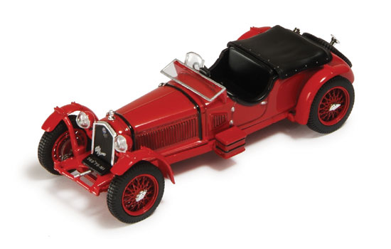 Alfa Romeo 8C Road Version (1931) Red