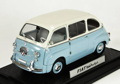 Fiat 600 Multipla Street version (grey-lightblue)