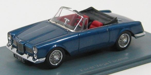Facel Vega Facellia F2 Dhc 1956 (dark blue)