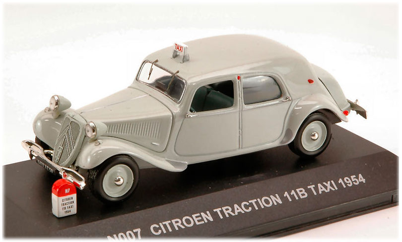Citroen Traction 11B Taxi 1954