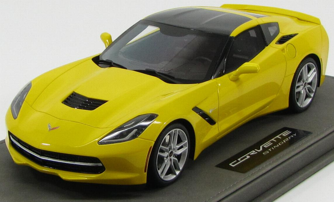 Chevrolet Corvette C7 Stingray Coupe 2014 Yellow