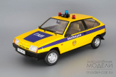 ВАЗ Самара 2108 1985 ГАИ (yellow / blue)