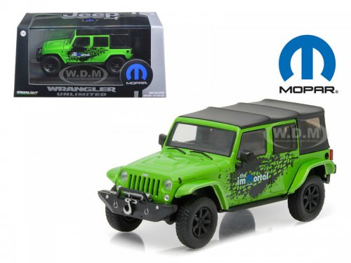Jeep Wrangler 4x4 Unlimited Mopar Edition The Immortal Tribute 5-дв.(Soft Top) 2014 Green