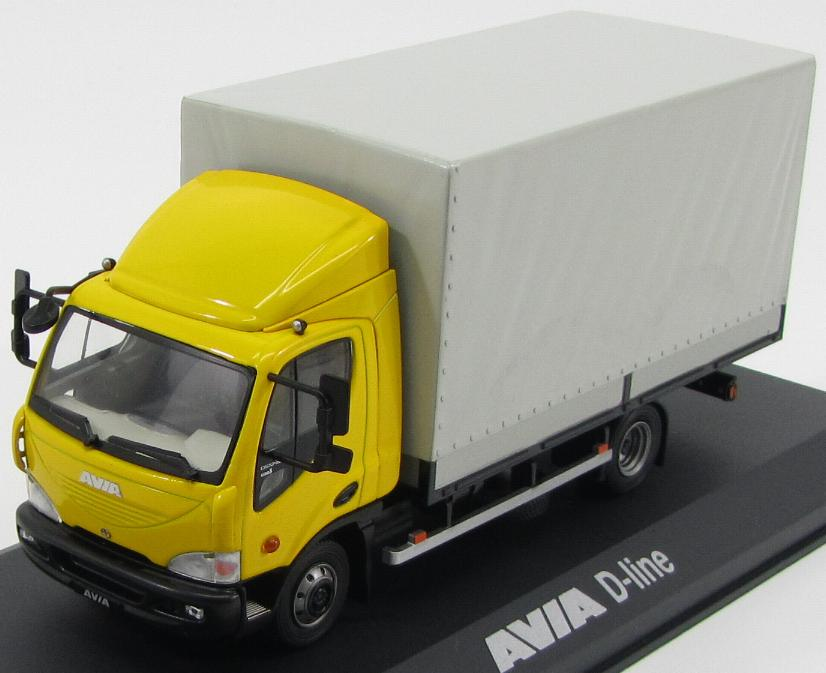 Avia D-Line 120-210 Truck 2012 Yellow / Gray (cover with spoiler)