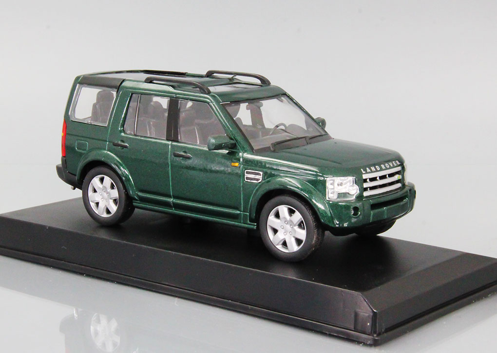 Land Rover Discovery 3 (green)