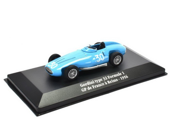 GORDINI Type 32 #30 Formula 1 GP France 1956