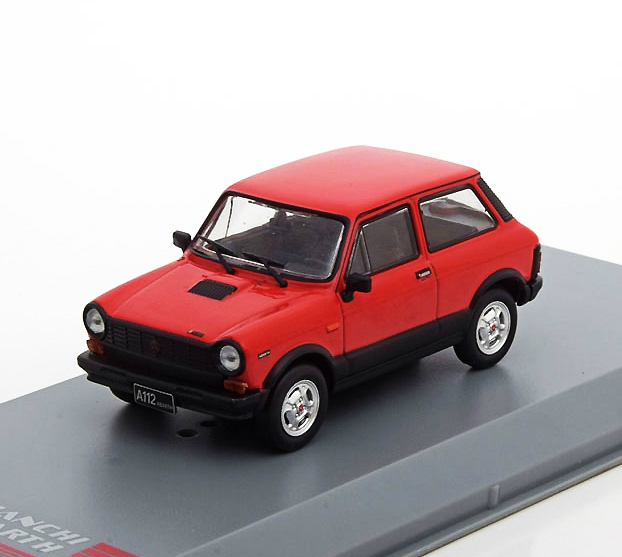 Autobianchi A112 Abarth 1979 Red/Black