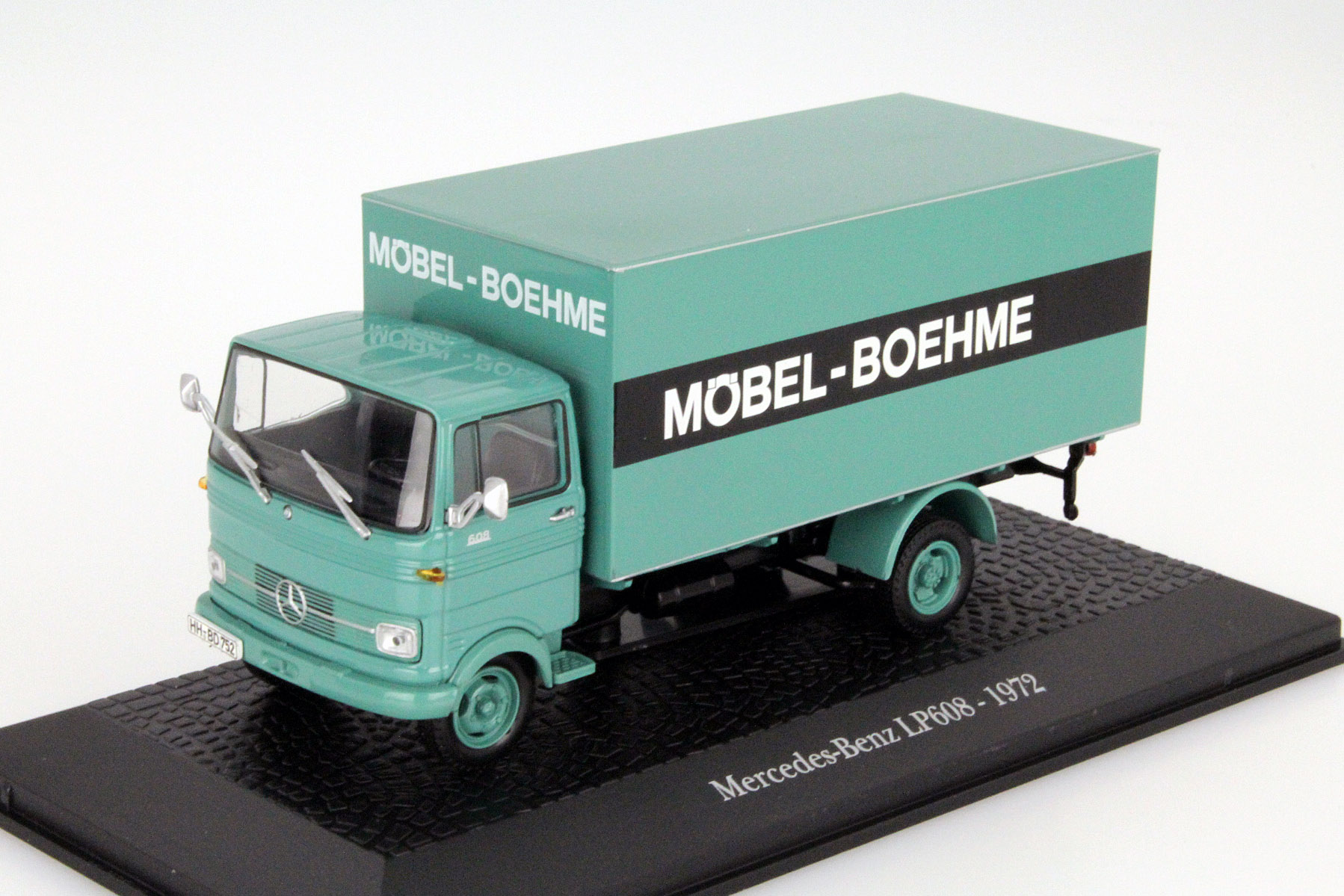 "Mercedes-Benz LP608 ""Mobel-Boehme""1965 Green"