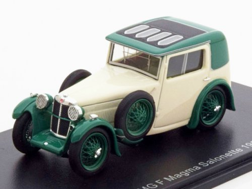 MG F Magna Salonette 1933 (white / green)