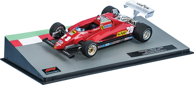 FERRARI 126 С2 Марио Андретти (1982), Formula 1 Auto Collection 15