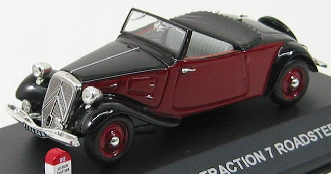 Citroen Tration 7 Roadster 1935 Red / Black